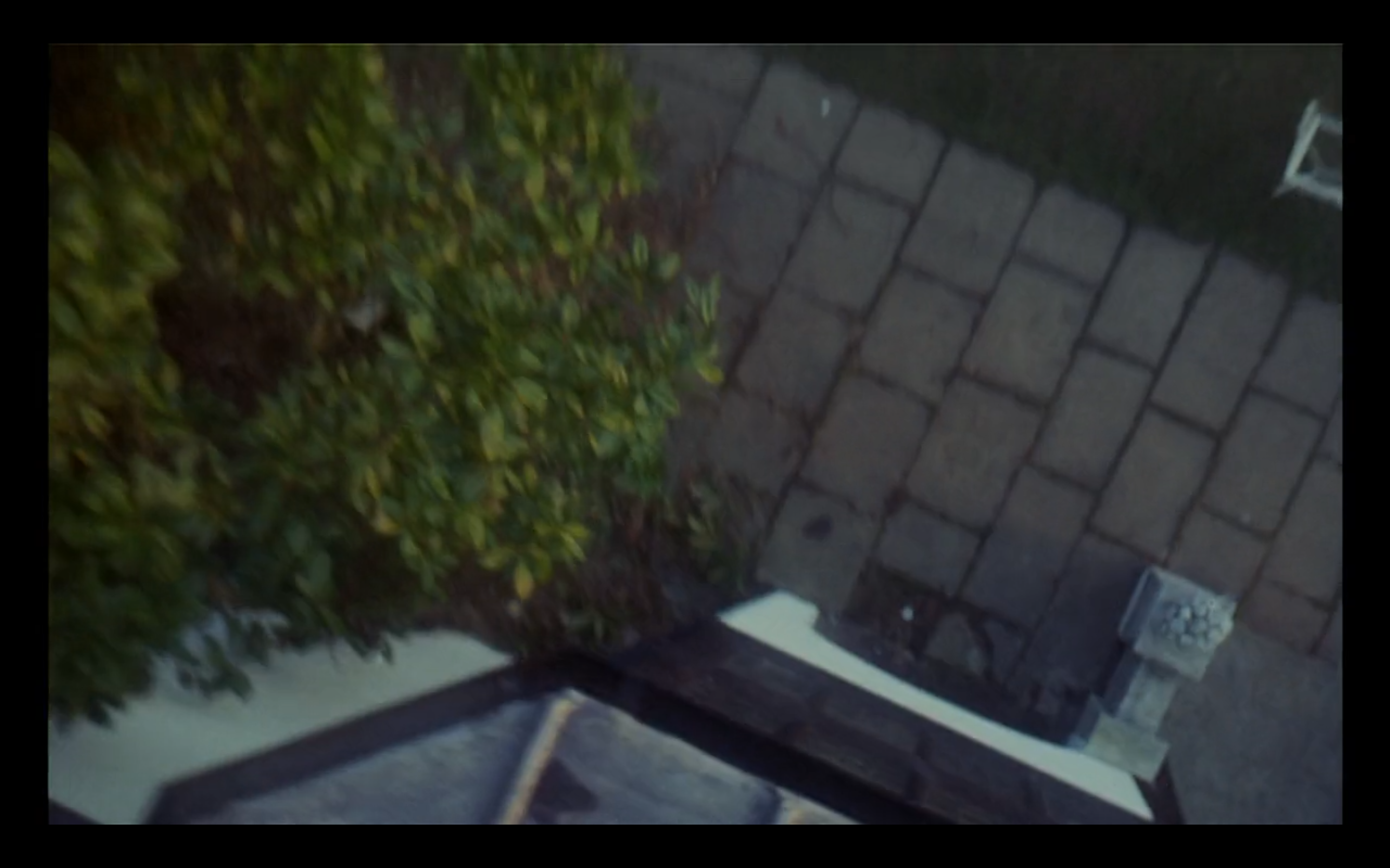 In A Clockwork Orange, Kubrick has the camera thrown out of a window to simulate a jump.